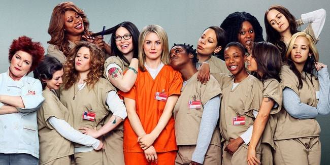 Orange is the new black – Netfilx (2013- nay)