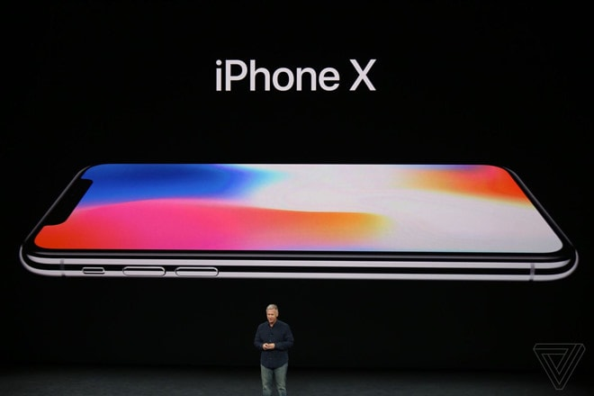 iPhone X ra mắt